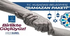 Kuşadası Belediyesi'nden '4 Bin Aileye' Ramazan Yardımı