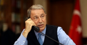 Millî Savunma Bakanı Akar, ABD Savunma Bakanı Austin İle Telefonda Görüştü