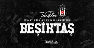 Cumhurbaşkanı Erdoğan'dan Beşiktaş'a Tebrik Mesajı