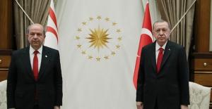 Cumhurbaşkanı Erdoğan, KKTC Cumhurbaşkanı Tatar İle Telefonda Görüştü