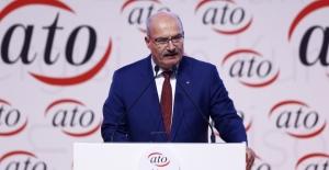 """ATO Başkanı Baran'dan """"Ticari Kredilere Erteleme"""" Talebi"""
