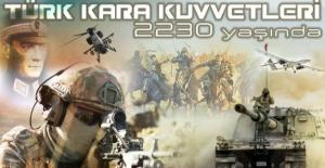 Bakan Akar'dan Kara Kuvvetleri Komutanlığı'nın 2230'uncu Kuruluş Yıl Dönümü Mesajı