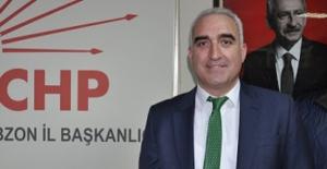 """CHP Trabzon İl Başkan Hacısalihoğlu, """"Esnafa Yardım Edilmiyor, Sadece Borçlandırılıyor"""""""