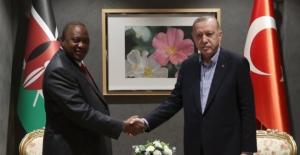 Cumhurbaşkanı Erdoğan, Kenya Cumhurbaşkanı Kenyatta İle Görüştü
