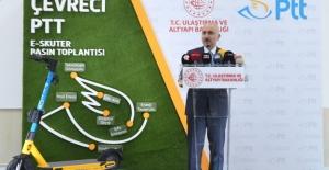 E-Skuter, Artık PTT Dağıtım Hizmetlerinde Kullanılacak
