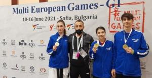 Türk Telekom Spor Kulübü Tekvandocularından 3 Altın Madalya