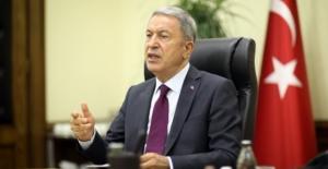 """Bakan Akar: """"Yunanistan Uzlaşmaz Ve Gerginliği Tırmandırıcı Tavrını Sürdürüyor"""""""