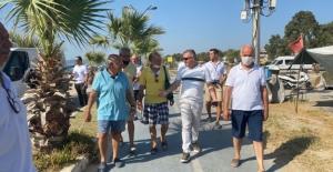 Başkan Yardımcısı Oğuzhan Turan Mahalle Ziyaretlerini Sürdürüyor