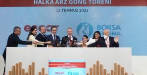 Escar, Borsa İstanbul'da İşlem Görmeye Başladı