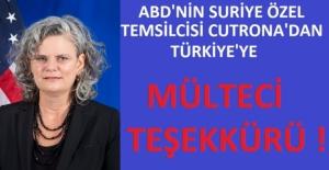 Amerika'dan Türkiye'ye Mülteci Takdiri