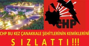 CHP Bu Kez De 'Çanakkale Şehitlerinin Kemiklerini' Sızlattı