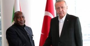 Cumhurbaşkanı Erdoğan, Burundi Cumhurbaşkanı Ndayishimiye İle Görüştü