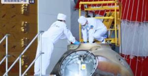 Shenzhou-12 İnsanlı Uzay Aracının...