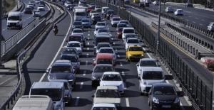 Trafiğe Kayıtlı Araç Sayısı 24 Milyon 933 Bin 974 Oldu