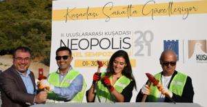 2. Kuşadası Neopolis Heykel Sempozyumu Başladı