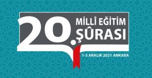 20. Millî Eğitim Şûrası'na Fikrî Katılım İçin Paydaşlara Ek Süre Verildi