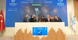 Borsa İstanbul'da Gong Hedef Holding İçin Çaldı