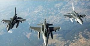 Irak'ın Kuzeyi Hakurk Bölgesine Hava Harekatı: 4 Terörist Etkisiz Hale Getirildi