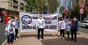 """SAHİM-SEN: """"Kamu Emekçileri Hak Kayıplarına Karşı Seslerini Meydanlardan Yükseltecek"""""""