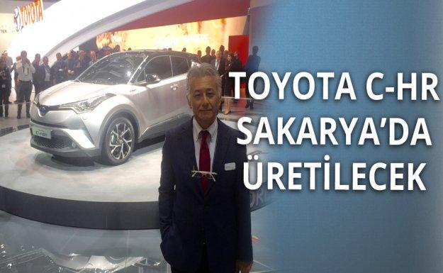 Yeni Toyota C-HR Sakarya'da Üretilecek