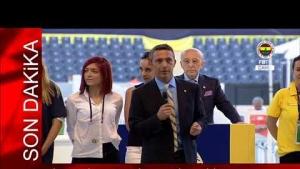 Fenerbahçe 37.Başkanı Seçilen Ali Koç'un Teşekkür Konuşması